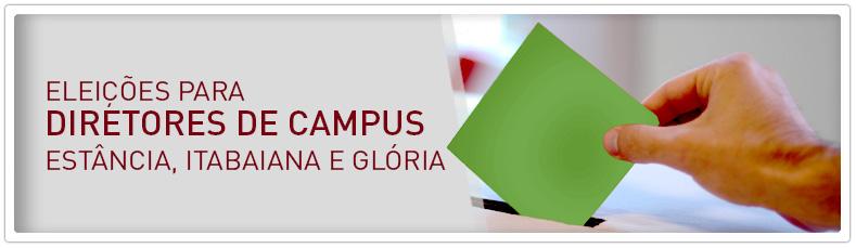 Eleições diretores de Campus