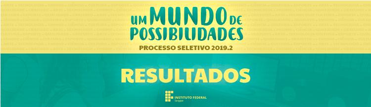 Processo Seletivo 2019.2