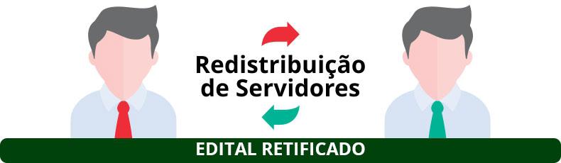 REDISTRIBUIÇÃO DE SERVIDORES